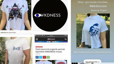 Photo of WKDNESS Markasından sanatçı imzalı pamuklu tişörtler satışa sunuldu…
