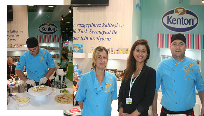 kenton-worldfood-istanbul-fuari-nda