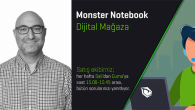 Photo of Monster Notebook'tan ; Dijital Mağaza…
